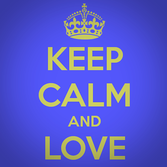 Keep Calm and #truthbeatslove